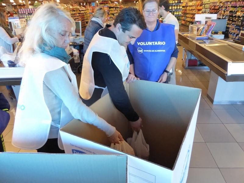La Nucia reúne 9.900 kilos de alimentos en la 'Gran Colecta'