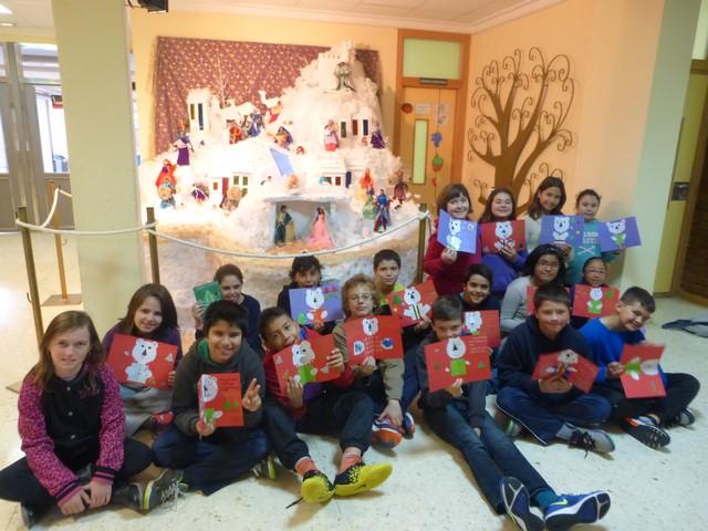 El Nadal més europeu al col·legi Montgó de Dénia