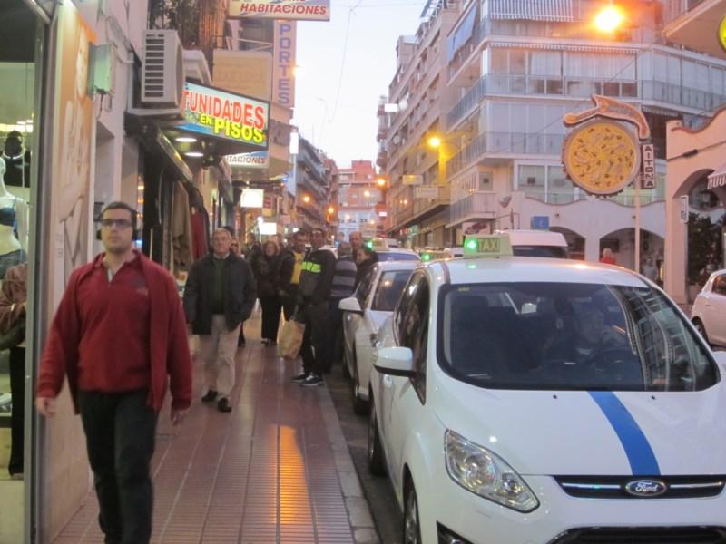 Benidorm congela las tarifas del taxi para 2016