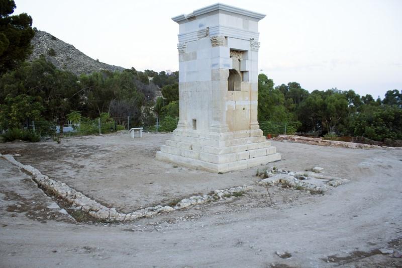 Un estudio sitúa a la torre romana de Sant Josep como el recinto funerario más amplio de Hispania