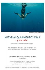 """Exposición colectiva: """"Nuevemilquinientos días y uno más"""" -Xàbia- @ Isabel Bilbao Galería"""