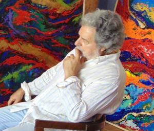 """Exposición de pintura de Requena Nozal: """"Hemeroscopeion 1980 - 2015"""" -Dénia- @ Centro de Arte l'Estació"""