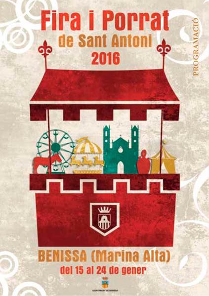 Fira i Porrat de Sant Antoni 2016 Benissa