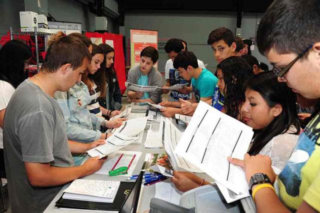 Imagen de la edición de 2015 de La Fira de l'Estudiant