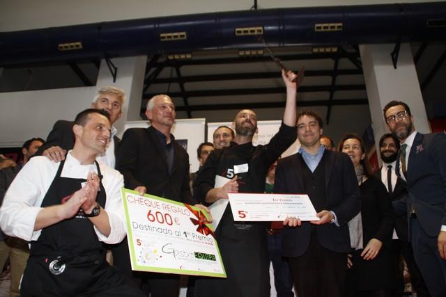 El restaurante El Plantío de Alicante conquista el concurso de la gamba roja de Dénia
