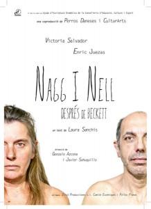 """Teatro: """"Nagg i Nell"""" de la compañía Perros Daneses -Xàbia- @ Casa de la Cultura"""