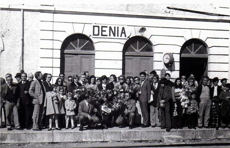42 años del último tren Dénia-Gandia… y de la primera promesa incumplida