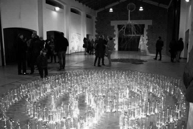 L'Escola de Plàstica Experimental de Gata inaugura el Prado com a espai d'exposicions