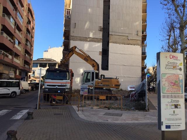 El archivo de la causa por el fiscal reactiva las obras del hotel en el solar del Bar Mediterráneo