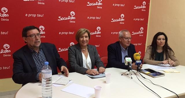 El PSPV «presionará» a Marina Salud para que deje la sanidad de la comarca
