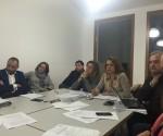 Una imagen de la reunión de la directiva del Cercle Empresarial de la Marina Alta.