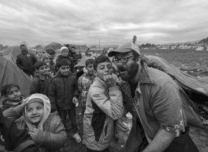 """Iván Prado (Pallasos en Rebeldia): """"Idomeni es un campo de concentración"""""""
