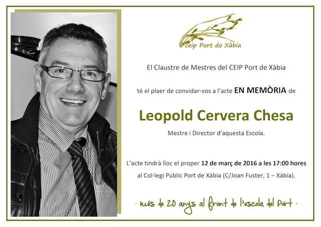 Invitació en Record Leo