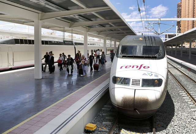 madrid alicante train