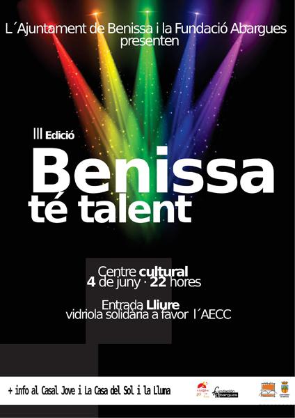 """""""Benissa té talent"""" 2016"""
