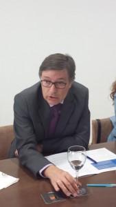 Javier Díez, delegado de Hidraqua en Benidorm