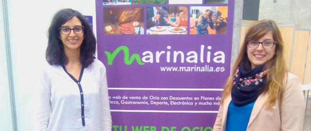 Cristina Carracedo y Carolina Vallés, responsables de Marinalia
