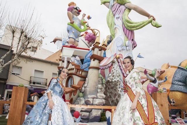 [Galería] El homenaje a las ganadoras de les Falles de Dénia