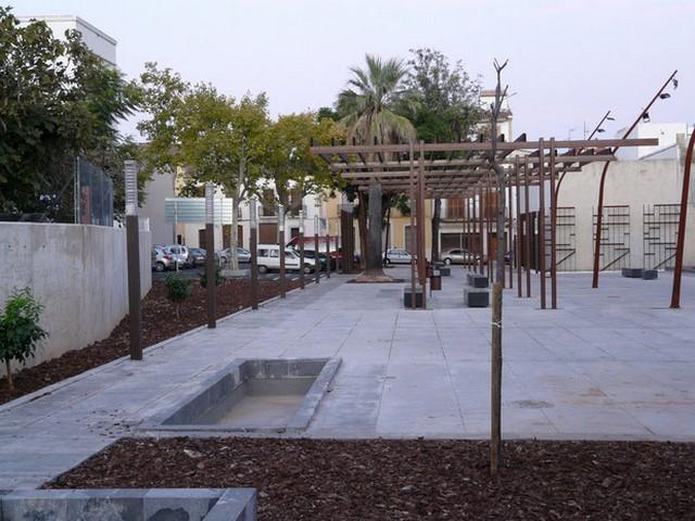 La plaza de la Quintana en Pego ya es de Maria Cambrils