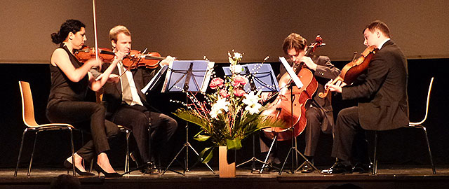 [Dénia Clàssics] El viaje por la música centroeuropea de los eslavos de Odessa String Quartet