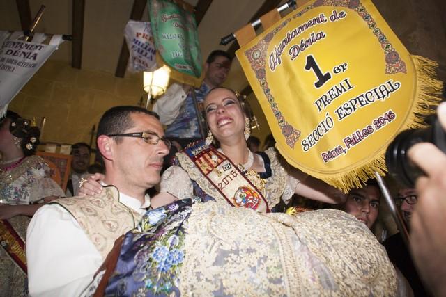 Oeste vuelve a ganar Les Falles de Dénia 18 años después