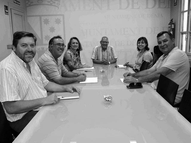 Los empresarios piden al gobierno de Dénia avances concretos en el Plan General