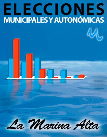 Elecciones municipales Marina Alta 2015