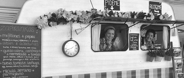 """La parada de Marilú"", la primera ""food truck"" de Dénia"