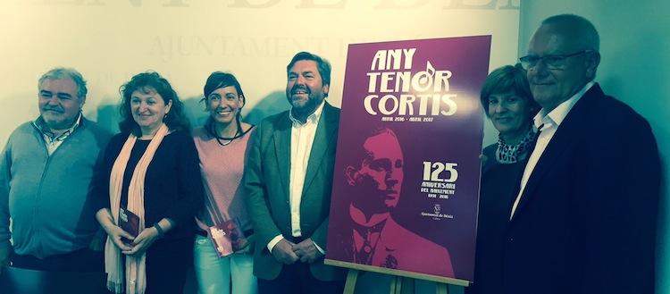 Dénia dedica 2016 al Tenor Cortis, un cantante de rango mundial perjudicado por sus ideales republicanos