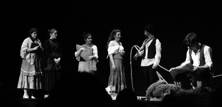El público elige «Cuando ríe la luna» como mejor obra en la Mostra de Teatre en Curt