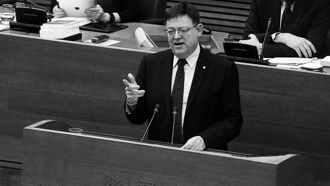 "Ximo Puig se compromete en les Corts a la ""reversión anticipada"" de la sanidad de la Marina Alta en esta legislatura"