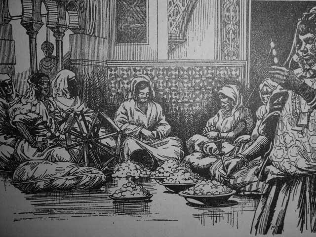 Los indicios que apuntan a que en la Dénia islámica se producía seda