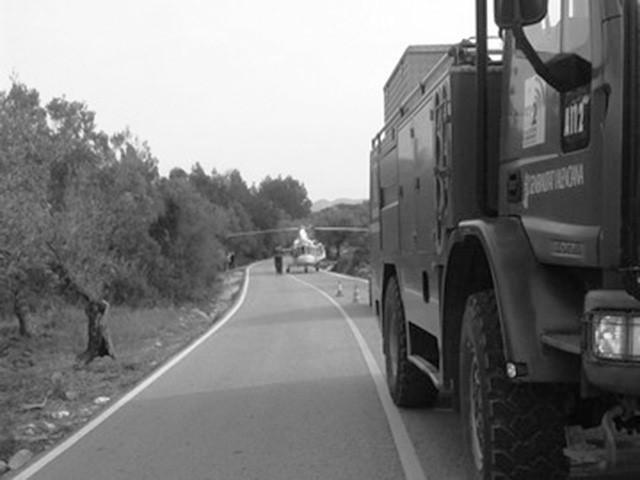 Un juez de Dénia imputa por lesiones a la conductora que arrolló a ocho ciclistas profesionales en Benigembla