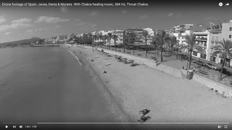 [Vídeo] Un dron redescubre desde el cielo las costas de Xàbia, Dénia y Moraira