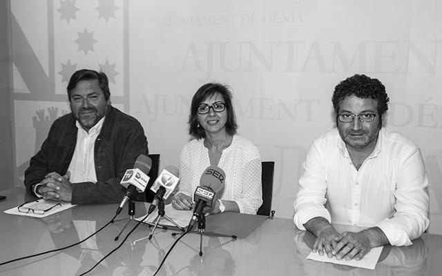 Rafa Carrió hace piña con el PSPV y aclara que Compromís es coautor de la propuesta de Plan General de Dénia