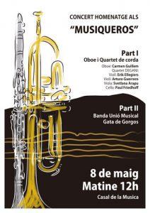 Poster Musiqueros Con comillas