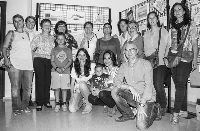 El col·legi Montgó de Dénia exposa el resultat del seu projecte Erasmus de creativitat i plurilingüisme