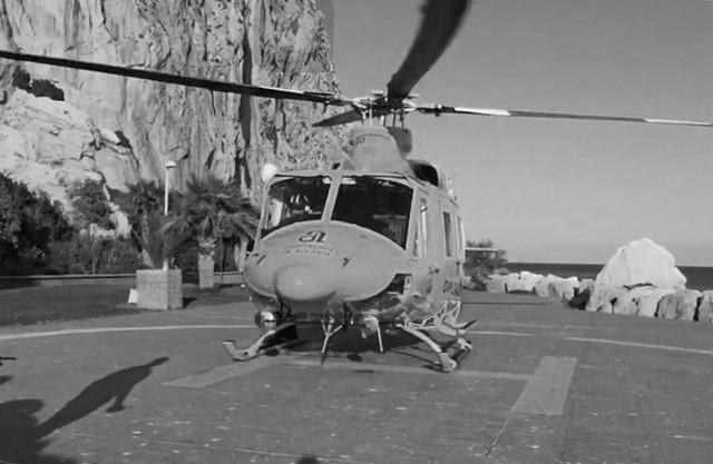 Rescatat en helicòpter un ancià del Penyal d'Ifac