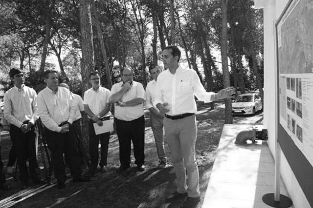 La Diputación y Xaló entierran sus disputas e inician las obras para cambiar la red de agua