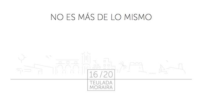 Teulada-Moraira «no es más de lo mismo»