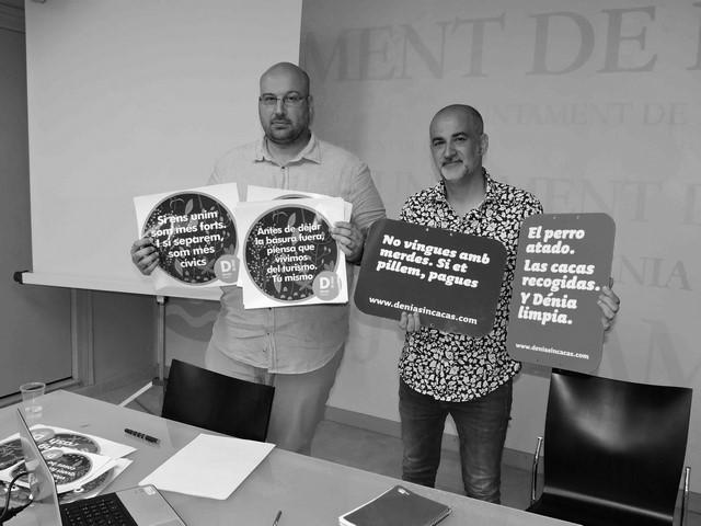 Plan de choque contra la suciedad y la acumulación de basuras en las calles de Dénia