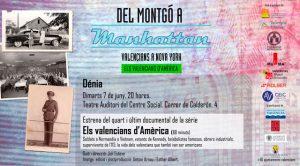 Presentació del documental 'Els valencians d'Amèrica' Dir.: Juli Esteve -Els Poblets- @ Biblioteca