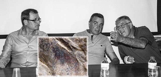 El hallazgo de una pintura de 8.000 años en Pego desvela uno de los enigmas del arte prehistórico comarcal