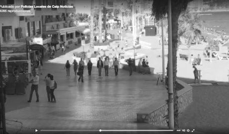 [VÍDEO] Las protestas de la Policía Local de Calp irrumpen en la campaña electoral del PP