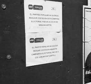 Quan l'austeritat a Benissa va costar 15.807 euros