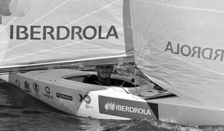 Rafa Andarias, segundo del IV Circuito Iberdrola de Vela Paralímpica
