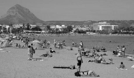 Más empleo (aunque aún precario) en Xàbia durante este verano