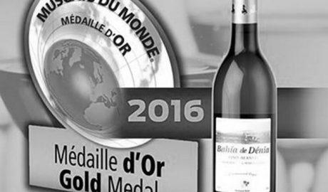 El vino 'Bahía de Dénia' de Xaló, entre los mejores moscatel del mundo