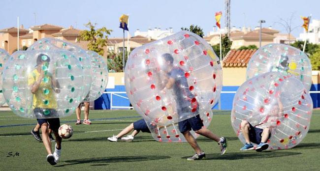 Bubble Soccer Marina Alta