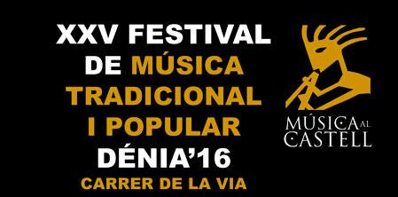 "Programación del Festival ""Música al Castell"" de Dénia"